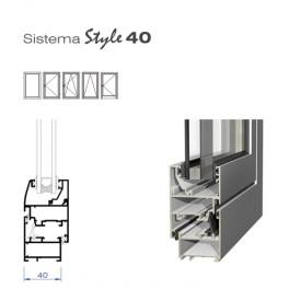 Sistema Abatible Style 40