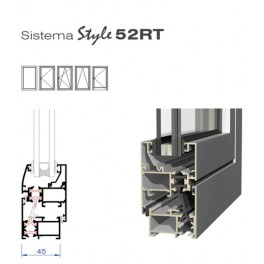 Sistema Abatible Style 52RT