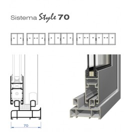 Sistema Corredera Style 70