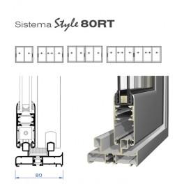Sistema Corredera Style 80RT